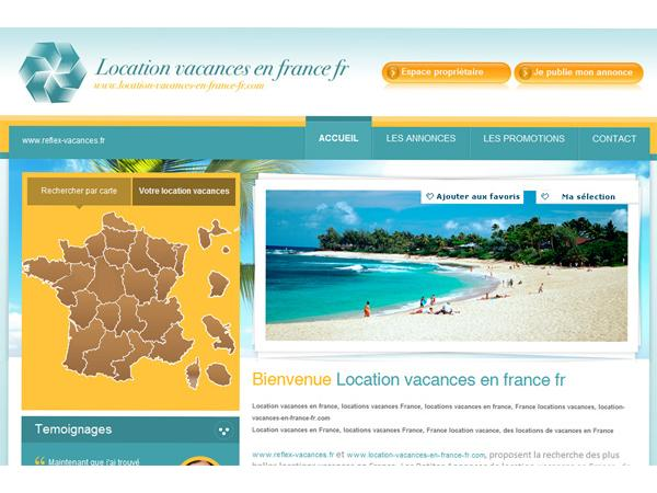 location vacances en France
