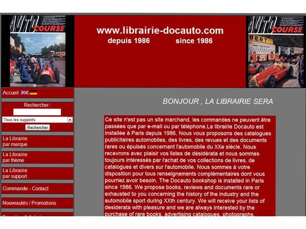 Librairie Docauto