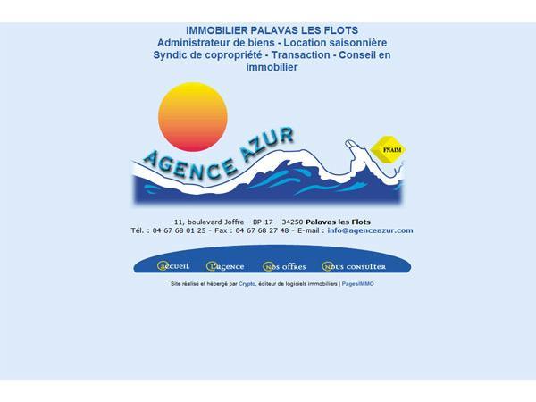 Agence immobilière Azur