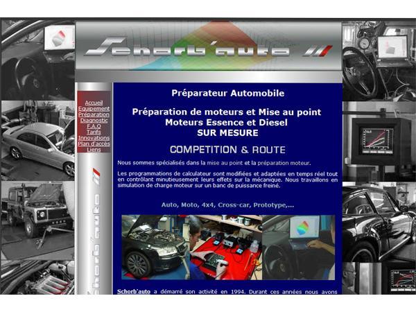 SCHORBAUTO : préparation et mise au point moteur