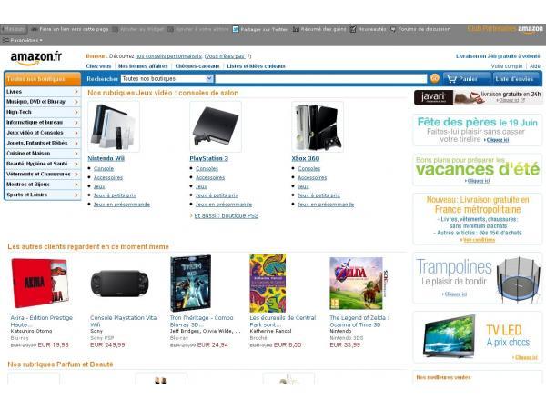 Cadeaux sur Amazon
