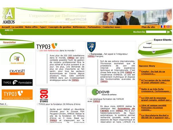 AMEOS - Agence de Management d'Expertise en Organisation des Sociétés