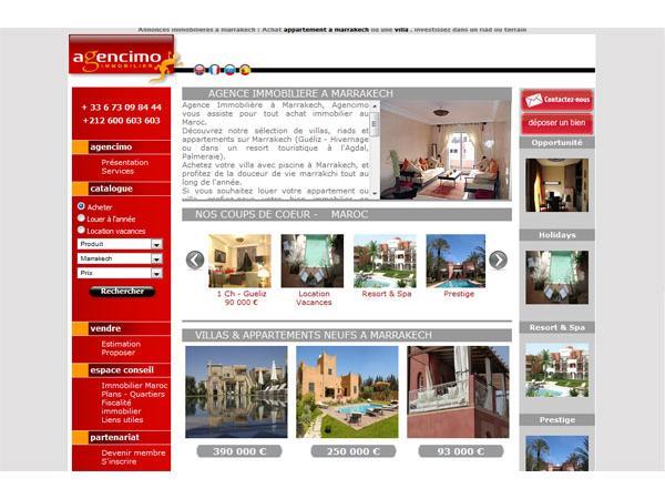 Agence Agencimo Marrakech