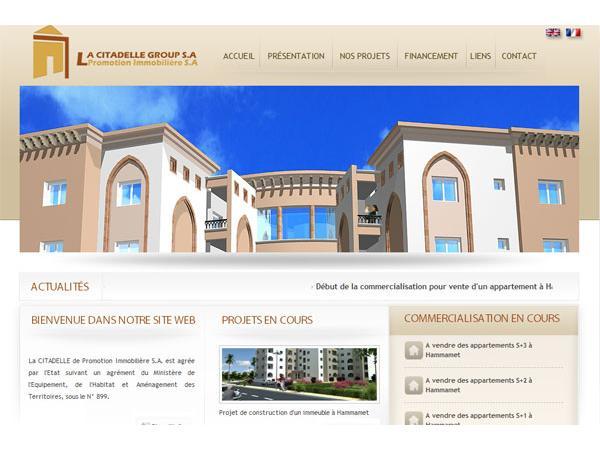 La Citadelle de promotion immobilière