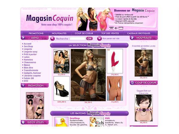 Sexshop MagasinCoquin