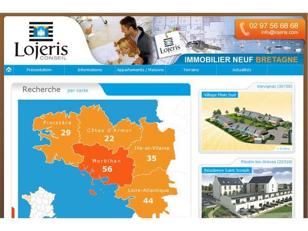 Immobilier neuf Bretagne