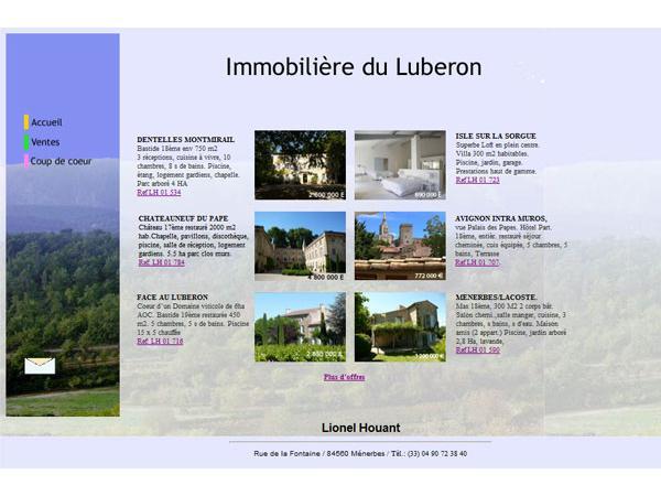 Immobilière du Luberon