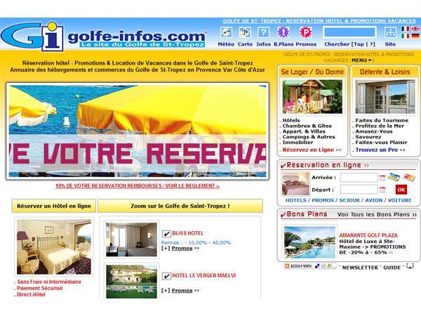 Le Site du Golfe de Saint-Tropez