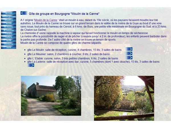 Bourgogne gîte Moulin de la Canne