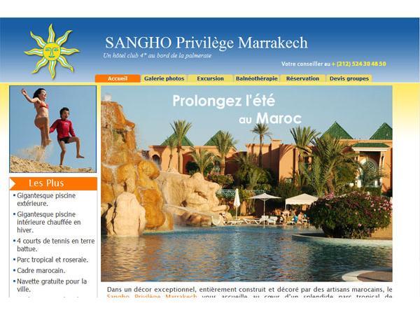 Sangho Club Privilège Marrakech - hotel Maroc
