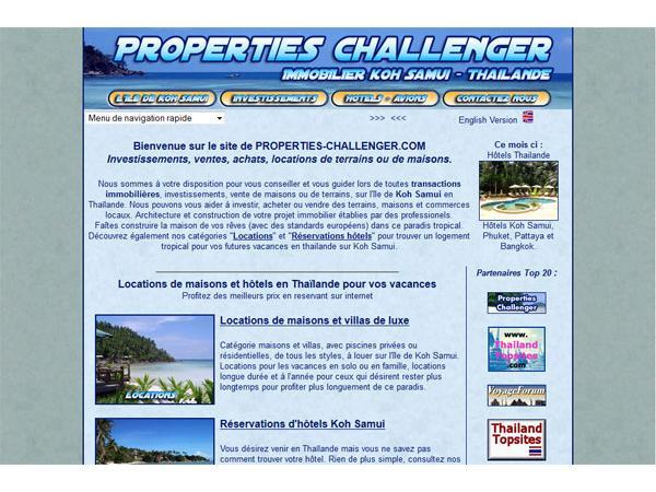 Properties-Challenger