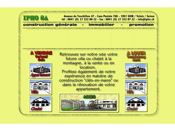 Ipho : votre futur villa ou chalet à la montagne