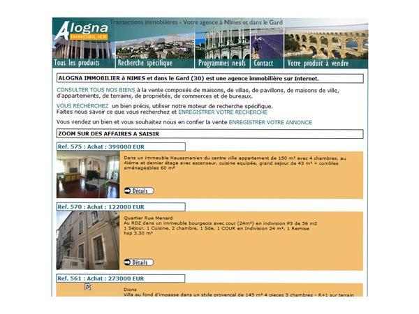 Alogna Immobilier agence immobilière à Nimes