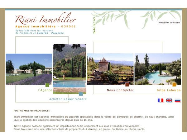 Riani Immobilier : Luberon et  Provence