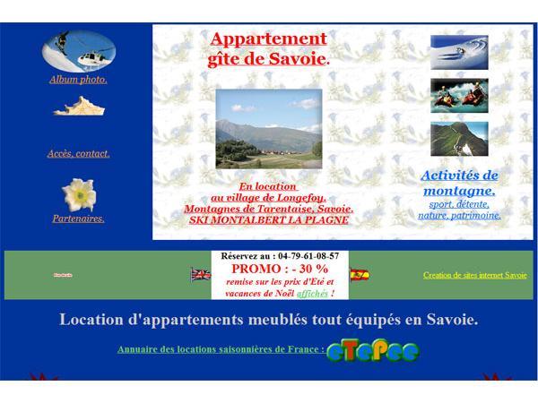 Gites et Appartements en Savoie