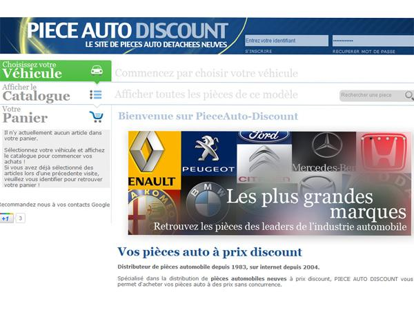 Pieces auto discount