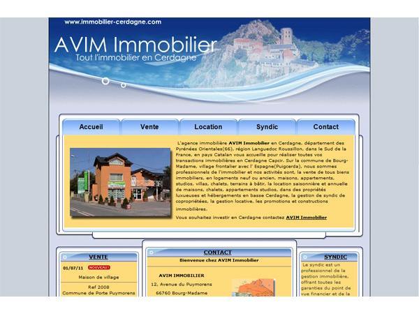 Agence AVIM immobilier en Cerdagne