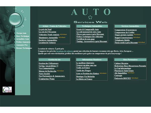Auto Services Web