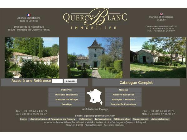 Immobilier en Quercy Blanc