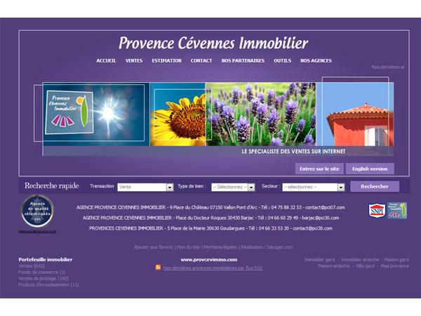 Provence Cevennes Immobilier