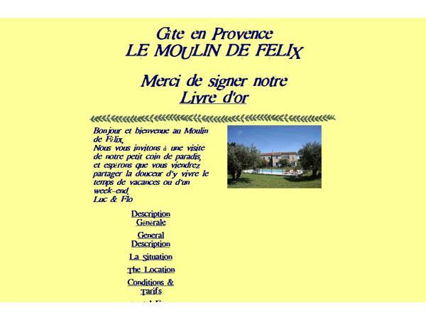 Gîte en Provence - Le Moulin de Félix