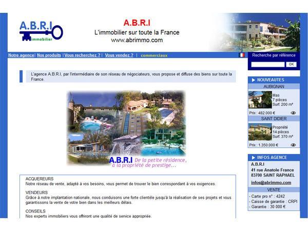 A.B.R.I.  Agence Belles Résidences Immobiliéres  84380 - Mazan