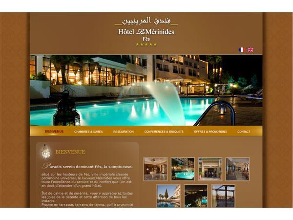 Hôtel à Fes, les Mérinides, hôtel au Maroc