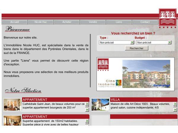 Agence Immobilière Nicole Huc