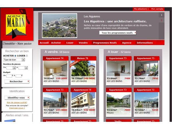 Agence immobilière Aix les Bains