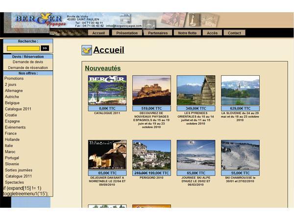 Berger Voyages - Haute Loire (43) - Auvergne