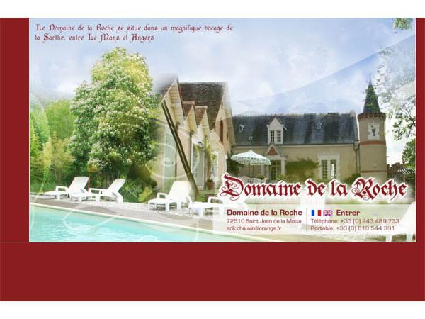 Domaine de la Roche - Sarthe