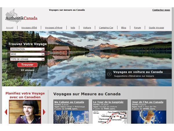 Authentik Canada - Voyage nature au Canada
