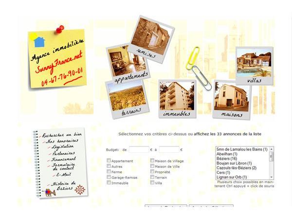 SunnyFrance.net - L'Immobilier du Sud de la France