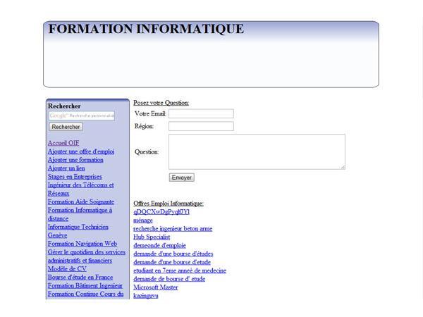 Online-Internet-Formation