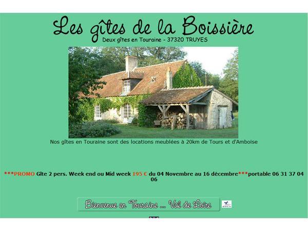 Location gites entre Amboise et Tours