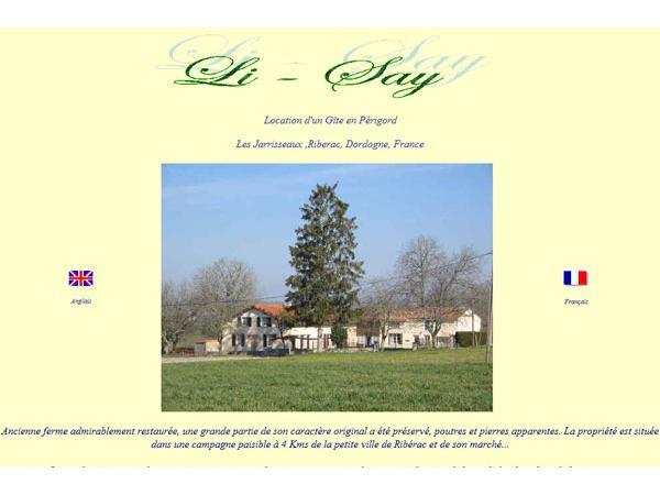 Agréable location de vacances à Ribérac en Dordogne