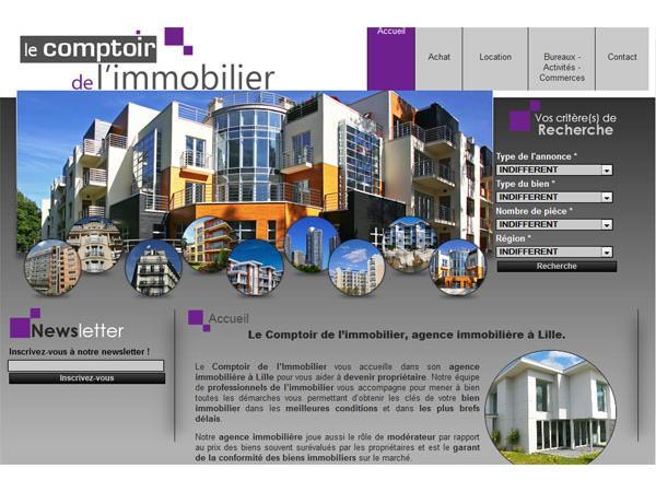 Le Comptoir de l'Immobilier - La Madeleine (Nord)