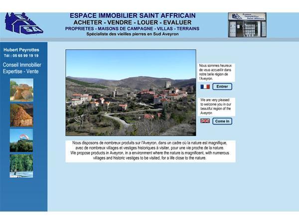 Espace immobilier - Aveyron