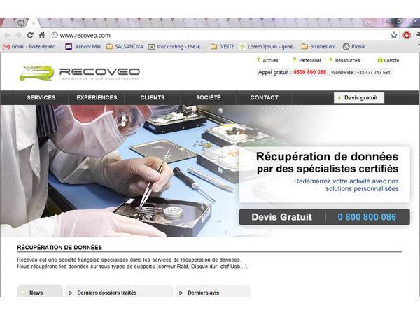 Invirtuel - récupération de données