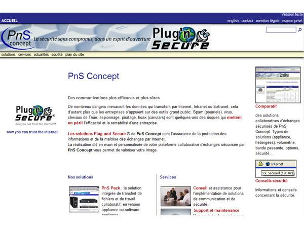 PnS Concept - Plug and Secure