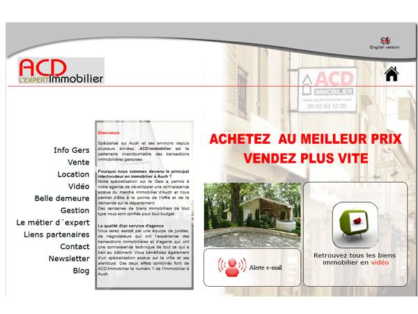 Acd Immobilier Gers