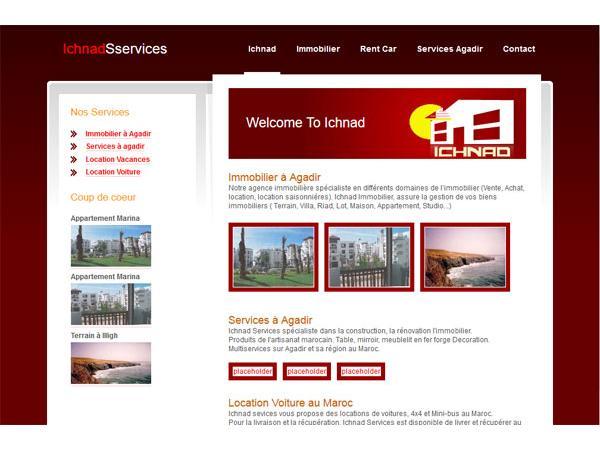 Ichnad services - Immobilier Maroc Agadir