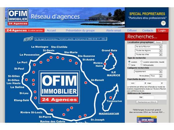Ofim immobilier - La Réunion