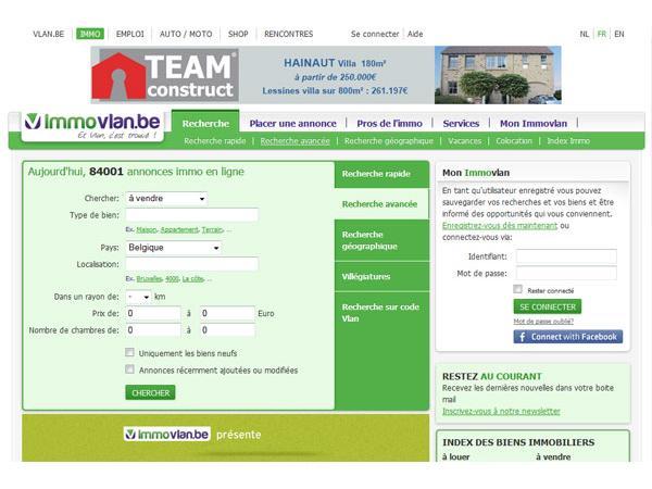 Vlan Immo - immobilier en Belgique