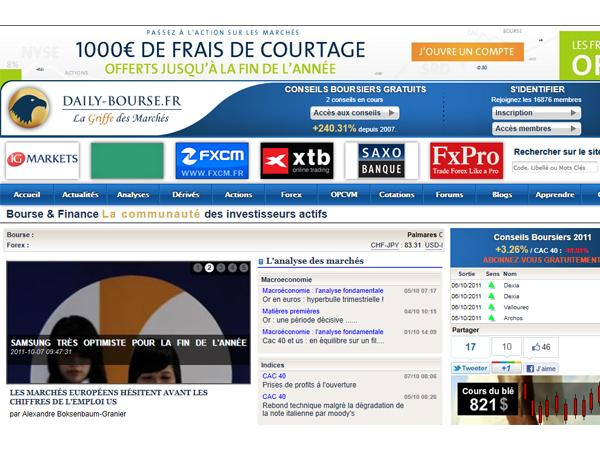 Daily Bourse et Trading