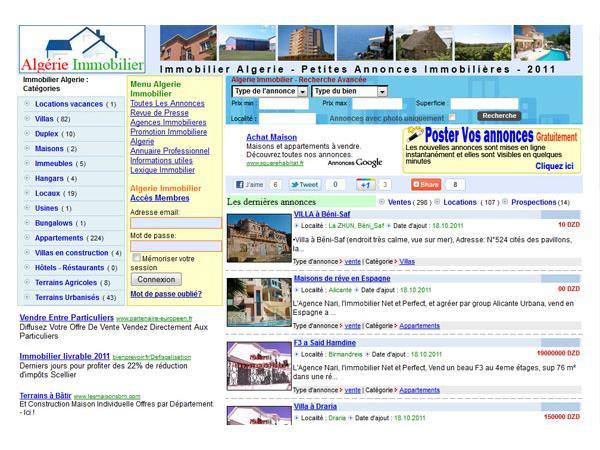 Algerie Immobilier