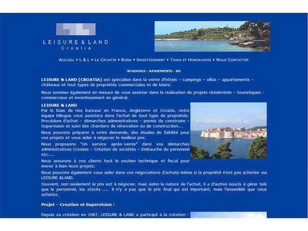 Leisure and Land - Croatie