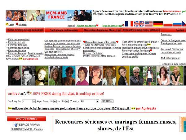 MCM-AMB, Rencontre belles femmes russes et asiatiques