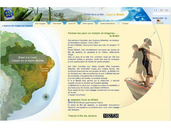 Terra Brazil, agence de voyage au Brésil