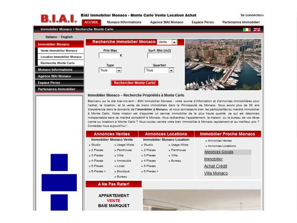 Agence BIAI - Monaco Immobilier